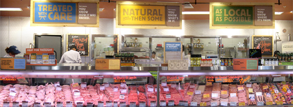 whole foods meat case